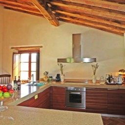 Casa Bella Vista: The kitchen, large open plan space to dine and relax