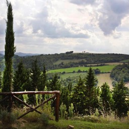 Casa Bella Vista: One of the views of the Tuscan countryside from the villa