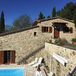 Il Castelletto: Self catering holiday home near Sansepolcro, Tuscany