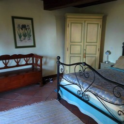 Il Castelletto: One of the three double bedrooms