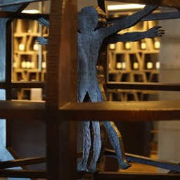 Antinori winery figure