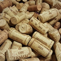 Antinori winery corks